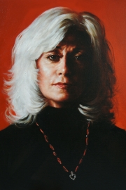Louise Pitre portrait by Derek Mainella