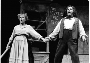 Louise Pitre as Mrs Lovett with John Fanning SWEENEY TODD 2004