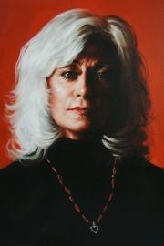 Louise Pitre portrait by Derek Mainella