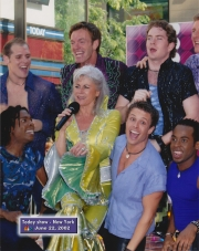 Louise Pitre and Cast MAMMA MIA! The Today Show