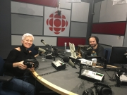 Louise Pitre with Alan Neal interview on CBC Radio All in a Day 5 April 2017