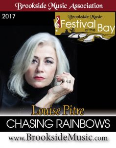 Louise Pitre at Festival of the Bays in Midland Ontario
