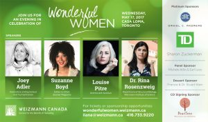 Louise Pitre is panel guest at Casa Loma May 17, 2017