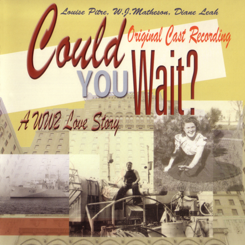 Louise Pitre CD cover for Could You Wait?