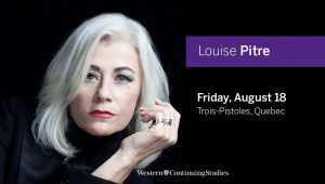 Louise Pitre to headline first ever Alumni Week in Trois-Pistoles