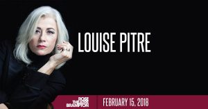 Louise Pitre at Rose Theatre 2018