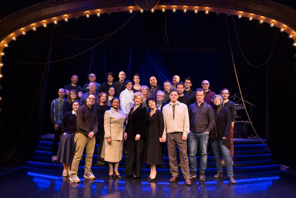 Louise Pitre with full cast of The Angel and the Sparrow Montreal 2018