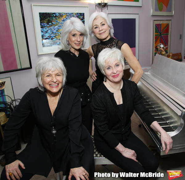 Broadway World Gray Pride Angelina Fiordellisi, Jamie deRoy, Nancy Opel and Louise Pitre